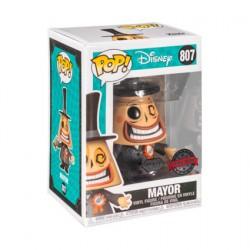 Figurine Pop! Diamond L'Étrange Noël de Mr Jack Mayor avec Megaphone Edition Limitée Funko Boutique en Ligne Suisse
