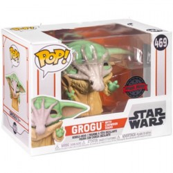 Figurine Pop! Star Wars The Mandalorian Grogu with Soup Creature Edition Limitée Funko Boutique en Ligne Suisse