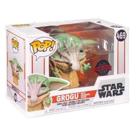 Figur Pop! Star Wars The Mandalorian Grogu with Soup Creature Limited Edition Funko Online Shop Switzerland
