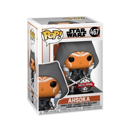 Figur Pop! Star Wars The Mandalorian Ahsoka Hooded Limited Edition Funko Online Shop Switzerland