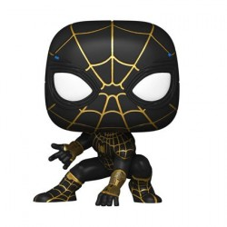Figurine Pop! Spider-Man No Way Home Spider-Man Black and Gold Suit Funko Boutique en Ligne Suisse