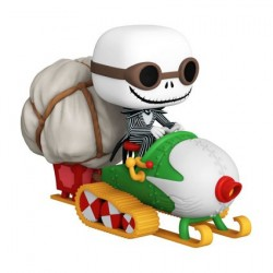 Figur Pop! Rides Disney Nightmare before Christmas Jack with Goggles and Snowmobile Funko Online Shop Switzerland