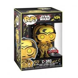 Figurine Pop! Star Wars Retro Series C-3PO Edition Limitée Funko Boutique en Ligne Suisse