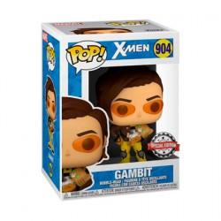 Figurine Pop! X-Men Gambit with Cat Edition Limitée Funko Boutique en Ligne Suisse