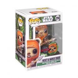 Figurine Pop! Star Wars Across the Galaxy Wicket W. Warrick Endor avec Pin Edition Limitée Funko Boutique en Ligne Suisse