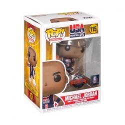 Figurine Pop! NBA Legends Michael Jordan 1992 Team USA Blue Jersey Edition Limitée Funko Boutique en Ligne Suisse