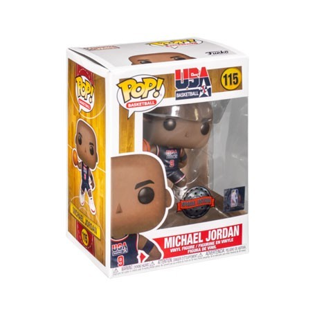 Figur Pop! NBA Legends Michael Jordan 1992 Team USA Blue Jersey Limited Edition Funko Online Shop Switzerland
