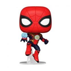 Figurine Pop! Spider-Man No Way Home Spider-Man Integrated Suit Funko Boutique en Ligne Suisse