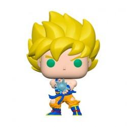 Figurine Pop! Dragon Ball Z Super Saiyan Goku avec Kamehameha Funko Boutique en Ligne Suisse