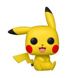Figurine Pop! Pokemon Pikachu Assis (Rare) Funko Boutique en Ligne Suisse