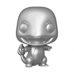 Figurine Pop! Métallique Pokemon Charmander Silver Edition Limitée Funko Boutique en Ligne Suisse