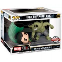 Figurine Pop! Marvel Movie Moments The Hulk Smashing Loki Limited Edition Funko Boutique en Ligne Suisse
