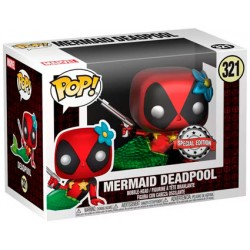 Figurine Pop! Métallique Deadpool Mermaid Edition Limitée Funko Boutique en Ligne Suisse