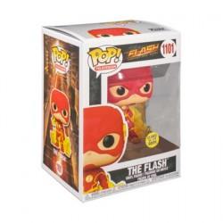 Figurine Pop! Phosphorescent The Flash 2014 The Flash with Energy Base Edition Limitée Funko Boutique en Ligne Suisse