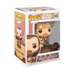 Figurine Pop! Star Wars Across the Galaxy Qui-Gon Jinn Tatooine Edition Limitée Funko Boutique en Ligne Suisse