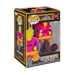 Figurine Pop! Marvel Blacklight Captain Marvel Edition Limitée Funko Boutique en Ligne Suisse