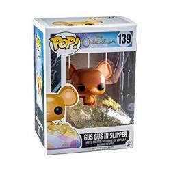 Figurine Pop! Disney Cendrillon Gus Gus Glitter Edition Limitée Funko Boutique en Ligne Suisse