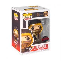 Figurine Pop! Métallique Mortal Kombat 2021 Scorpion Crouch Edition Limitée Funko Boutique en Ligne Suisse