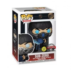 Figurine Pop! Phosphorescent Mortal Kombat 2021 Sub-Zero Edition Limitée Funko Boutique en Ligne Suisse