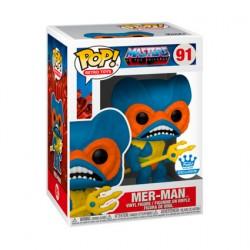 Figurine Pop! Les Maîtres de l'Univers Mer-Man Bleu Edition Limitée Funko Boutique en Ligne Suisse