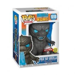 Figurine Pop! Phosphorescent Godzilla vs Kong Godzilla Heat Ray Edition Limitée Funko Boutique en Ligne Suisse
