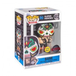 Figurine Pop! Phosphorescent Batman Bane Dia De Los DC Edition Limitée Funko Boutique en Ligne Suisse
