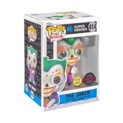 Figurine Pop! Phosphorescent Batman Joker Dia De Los DC Edition Limitée Funko Boutique en Ligne Suisse