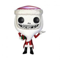 Pop! The Nightmare Before Christmas Santa Jack Skellington