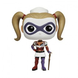 Figur Pop! Games Arkham Asylum Nurse Harley Quinn (Rare) Funko Online Shop Switzerland