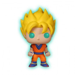 Figurine Pop! Phosphorescent Dragon Ball Z Super Saiyan Goku Edition Limitée Funko Boutique en Ligne Suisse