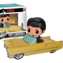 Figur DAMAGED BOX Pop Rides Scarface Tony in '64 Cadillac Funko Online Shop Switzerland