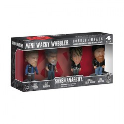 Sons Of Anarchy Mini Wacky Wobbler Set