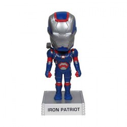 Iron Man 3 - Iron Patriot Wacky Wobbler bobble Head