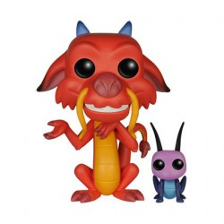 Figur Pop! Disney Mulan Mushu And Cricket (Vaulted) Funko Online Shop Switzerland