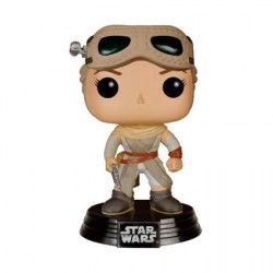 Pop! Star Wars Episode VII - Le Réveil de la Force Rey avec Lunettes
