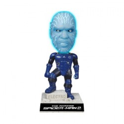 Marvel Spider-Man Electro GID Bobble Head