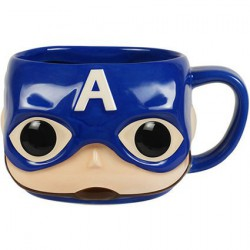 Figur Funko Pop Mug Marvel Captain America Funko Online Shop Switzerland