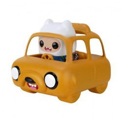 Figur Pop! Rides Adventure Time Jake Car with Finn (Vaulted) Funko Online Shop Switzerland