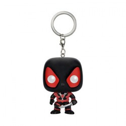 Figur Pop! Pocket Keychains Marvel Black Deadpool Funko Online Shop Switzerland