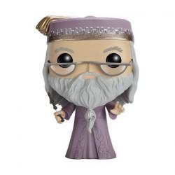Figurine Pop! Harry Potter Albus Dumbledore avec Baguette (Rare) Funko Boutique en Ligne Suisse