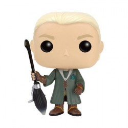 Pop! Movies Harry Potter Quidditch Draco Malfoy Edition Limitée