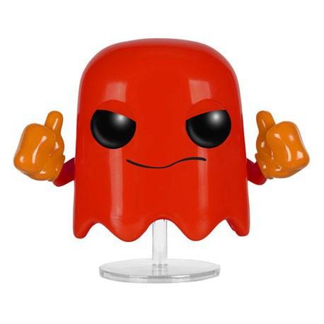 Figurine Pop! Games Pac Man Blinky Funko Boutique en Ligne Suisse