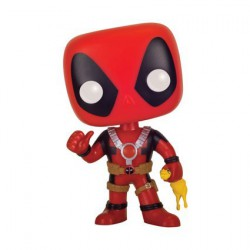 Pop! Marvel Deadpool with Rubber Chicken Limited Edition
