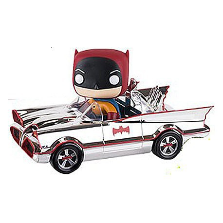 Figur Pop SDCC 2016 DC Silver 66 Batmobile Limited Funko Online Shop Switzerland