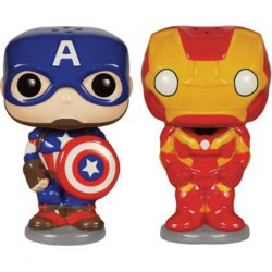 Pop Homewares Salt and Pepper Sets Avengers
