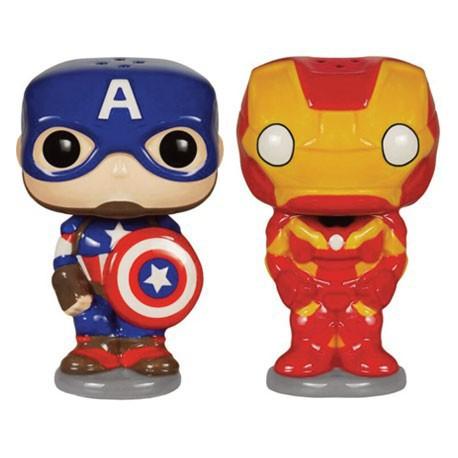 Figurine Pop Homewares Salt and Pepper Sets Avengers Funko Boutique en Ligne Suisse