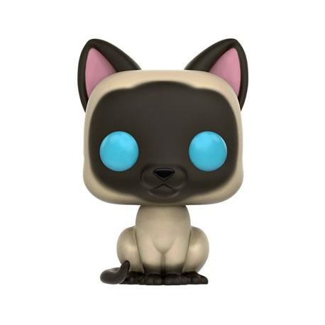 Figurine Pop! Pets Cats Siamese (Rare) Funko Boutique en Ligne Suisse