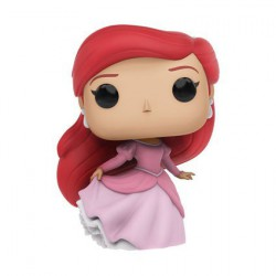 Pop! Disney Little Mermaid Ariel In Pink Dress (Rare)