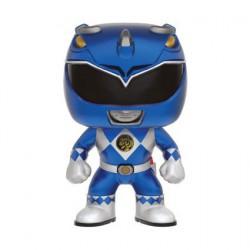 Figurine Pop! Métallique Power Rangers Blue Ranger Edition Limitée Funko Boutique en Ligne Suisse