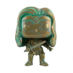 Pop! Batman vs Superman Wonder Woman Bronzed Patina Limited Edition